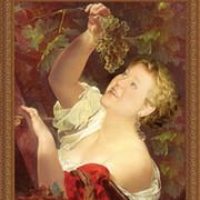 Оригинальный подарок - портрет на холсте по фото группа в Моем Мире.