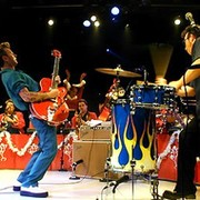 The Brian Setzer Orchestra group on My World